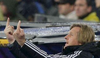 Schuster: «Keine Chance gegen Barcelona» (Foto)