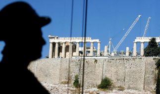 Schwarzarbeit war in Griechenland lange ein Kavaliersdelikt. Doch im griechischen Korruptionssumpf ist das nur eine Baustelle. (Foto)