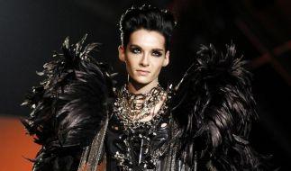 «Schwarzer Engel»: Bill Kaulitz modelt in Mailand (Foto)