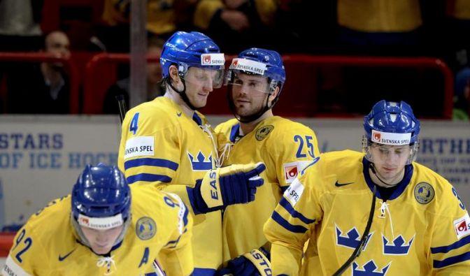 Schweden und Kanada bei WM im Viertelfinale (Foto)