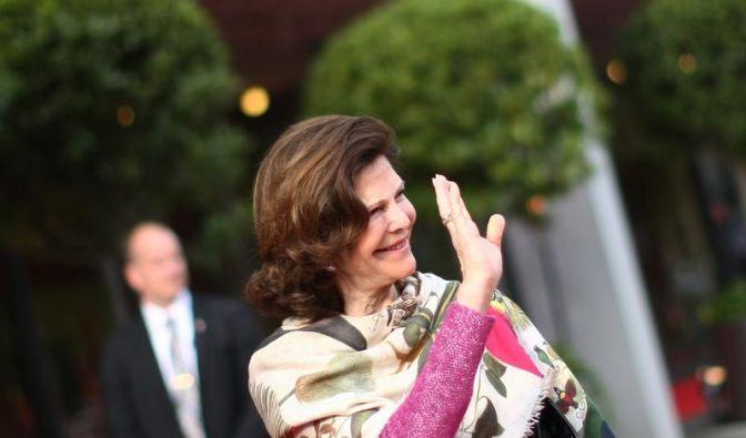 Schwedens Königin trällert Ständchen zum SAP-Geburtstag (Foto)