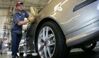 Schwedischer Autobauer Saab: Augustlöhne sind noch nicht ausgezahlt.  (Foto)