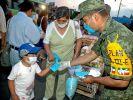 Schweinegrippe birgt «Potenzial einer Pandemie» (Foto)