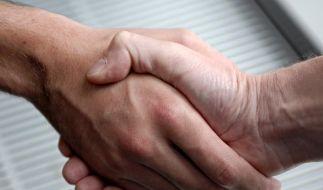 Schweinegrippe: Vor Begrüßen mit Handschlag fragen (Foto)