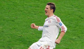 Schweinsteiger bleibt bis 2012 beim FC Bayern (Foto)