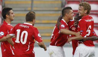 Schweiz bei der U 21-EM vor Halbfinaleinzug (Foto)