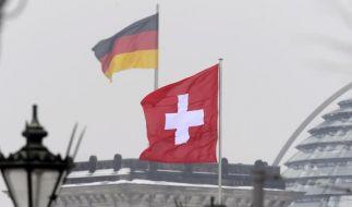 Schweiz und Deutschland unterzeichnen Steuerabkommen (Foto)