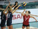 Schwere Gegner für Volleyball-Frauen (Foto)