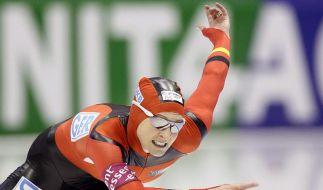 Schwere Zeiten für Claudia Pechstein. Nach den Doping-Vorwürfen geht sie an die Öffentlichkeit. (Foto)