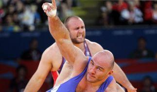 Schwergewichtler Taymazov zum 3. Mal Olympiasieger (Foto)