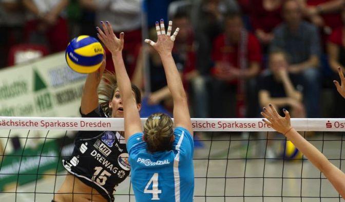 Schweriner SC erneut deutsche Volleyball-Meisterinnen (Foto)