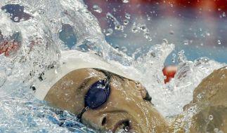 Schwimmen: Agnel klar schneller als Biedermann (Foto)