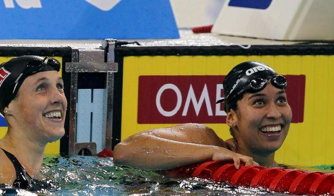 Schwimmerin Kromowidjojo mit  Weltjahresbestzeit (Foto)