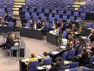 Screenschot der Abstimmung über das Meldegesetz: 27 der eigentlich erforderlichen 311 Abgeordneten sind noch am Platz. (Foto)