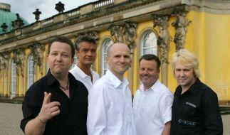 """v.l.n.r.: Sebastian Krumbiegel , Jens Sembdner, Wolfgang Lenk, Henri Schmidt und Tobias Künzel von der Band """"Die Prinzen"""". (Foto)"""