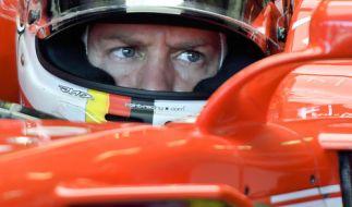 Sebastian Vettel muss beim Formel-1-GP in Japan Gas geben, sonst hat er kaum noch Chancen auf den WM-Titel. (Foto)