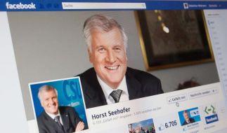 Seehofer geht mit Facebook-Party erfolgreich auf Fan-Fang (Foto)