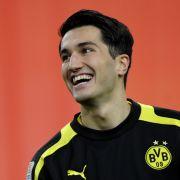 Sein Lachen ist zurück: Nuri Sahin greift beim BVB an.