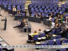 57 Sekunden im Bundestag: Zum Zeitpunkt der Abstimmung lief das EM-Halbfinale Deutschland-Italien. (Foto)