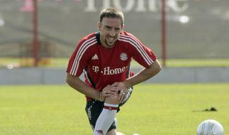 Selbst «Zizou» schwärmt von Ribéry (Foto)