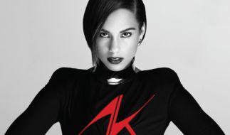 Selbstbewusst wie nie zeigt sich Alicia Keys auf Girl On Fire. (Foto)