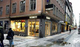 Selbstmordanschlag in Stockholm (Foto)