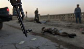 Selbstmordanschlag tötet Polizisten. (Foto)