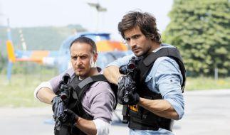 Semir Gerkan (Erdogan Atalay) und Ben Jäger (Tom Beck) sind mit Alarm für Cobra 11 zurück. (Foto)