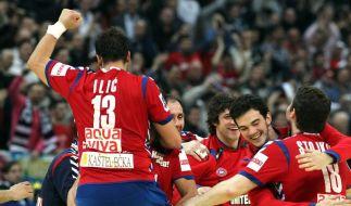 Serbien bei Heim-EM im Halbfinale (Foto)