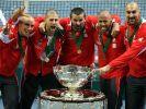 Serbien im Tennis-Rausch (Foto)