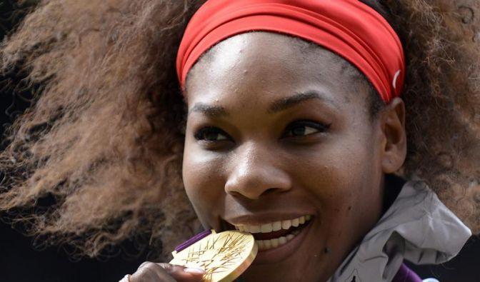 Serena Williams denkt schon an Olympia 2016 (Foto)
