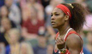 Serena Williams erste Viertelfinalistin (Foto)