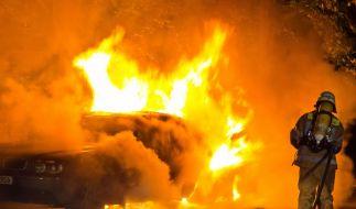 Serien-Auto-Brandstifter in Berlin gefasst (Foto)
