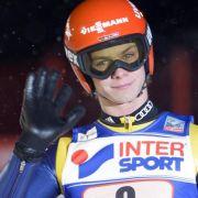 «Servus»: Skisprung-Newcomer Andreas Wellinger springt von Null in die Weltspitze.