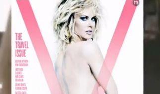 Sexy Aufnahmen für das V-Magazin: Nicole Kidman. (Foto)