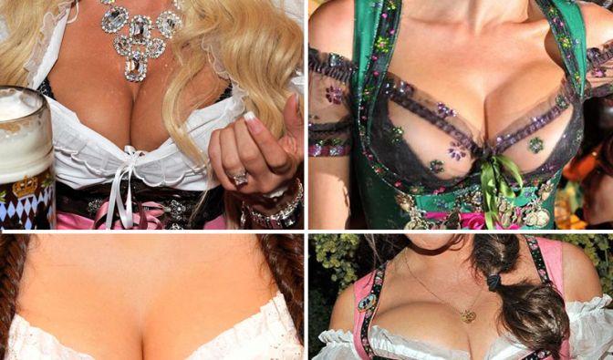 Sexy Promi-Dekolletés auf der Wiesn (Foto)