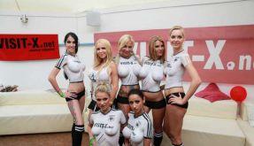 Sexy Soccer 2012: Die deutsche Mannschaft ging gegen Dänemark unter. (Foto)