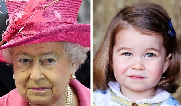 Sie sehen sich immer ähnlicher: Queen Elizabeth und Prinzessin Charlotte. (Foto)