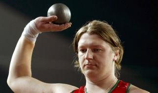Sie war nur wenige Tage Olympiasiegerin: Nadeschda Ostaptschuk aus Weißrussland. (Foto)