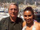 Sie sind das neue Traumpaar an der Cote d'Azur: Patricia Blanco, Tochter des Schlagersängers und Showstars Roberto Blanco und Björn Lefnaer, der steinreiche Unternehmer aus dem Schwabenländle. (Foto)