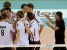 Sieg und Niederlage für Volleyballer in Weltliga (Foto)