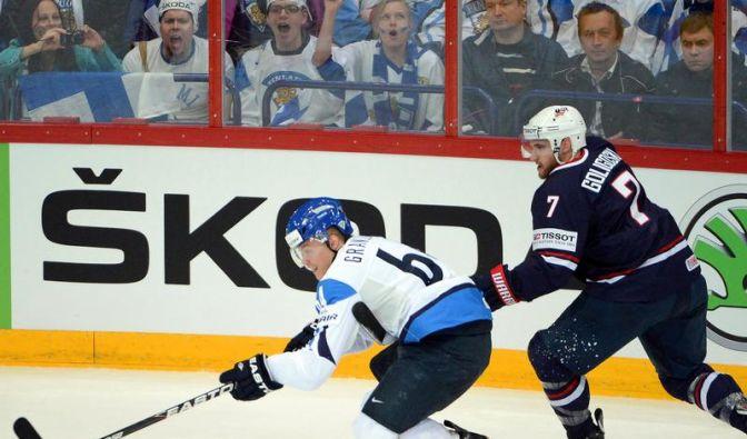 Siegtor kurz vor Schluss: Finnland im WM-Halbfinale (Foto)