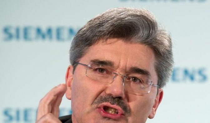 Siemens-Finanzchef räumt Fehler ein (Foto)