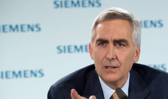 Siemens meldet Gewinneinbruch (Foto)