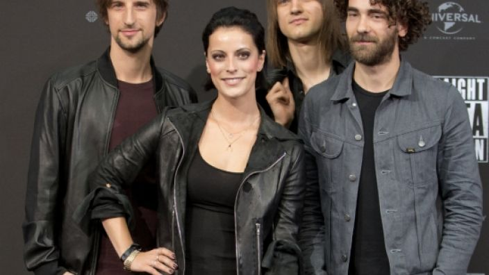 Silbermond ist eine deutsche Pop-Rock-Band aus Bautzen in Sachsen. (Foto)