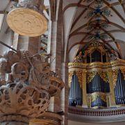 «Silberstück»: Erstes Geburtstagswerk im Freiberger Dom (Foto)