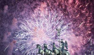 Silvester-Feuerwerk: 100 Millionen zum Abschuss frei (Foto)