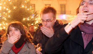 Silvester Trauben (Foto)