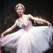 Silvia Seidel als Ballett-Tänzerin Anna in einer Szene des Films Anna im Juni 1987.