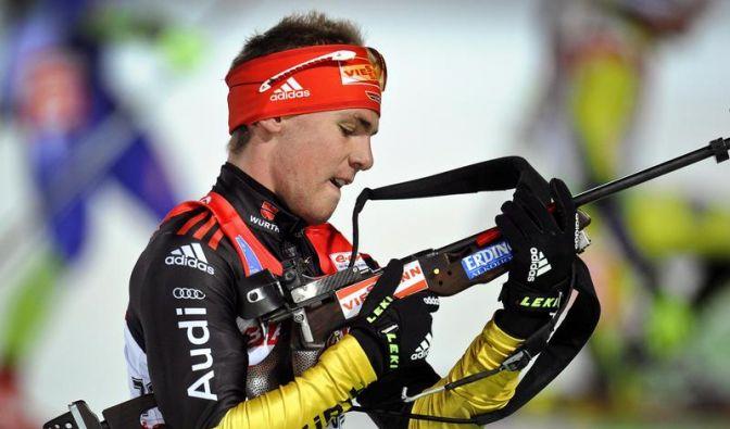 Simon Schempp sprintet auf Rang vier (Foto)
